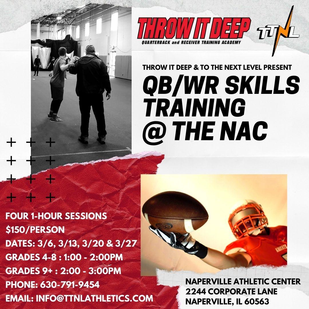 QB/WR Skills Training Session
