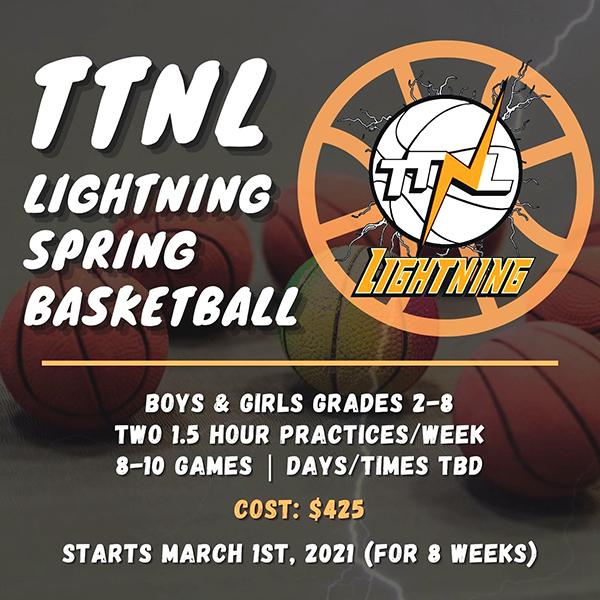 TTNL Spring Basketball Travel Teams