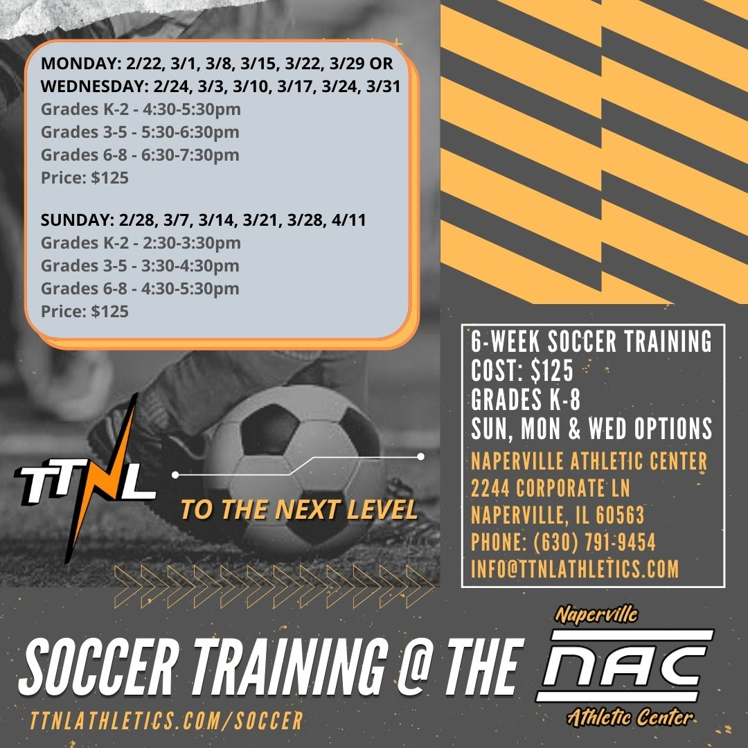 TTNL Six Week Soccer Training