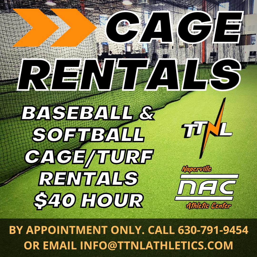 Batting Cage Rentals @ The NAC