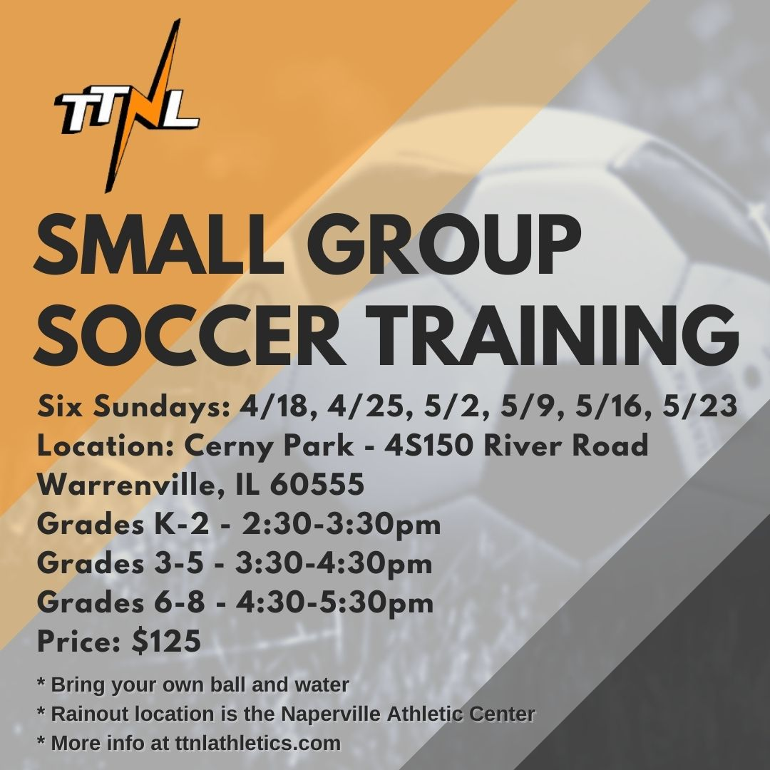 TTNL Small Group Soccer Training