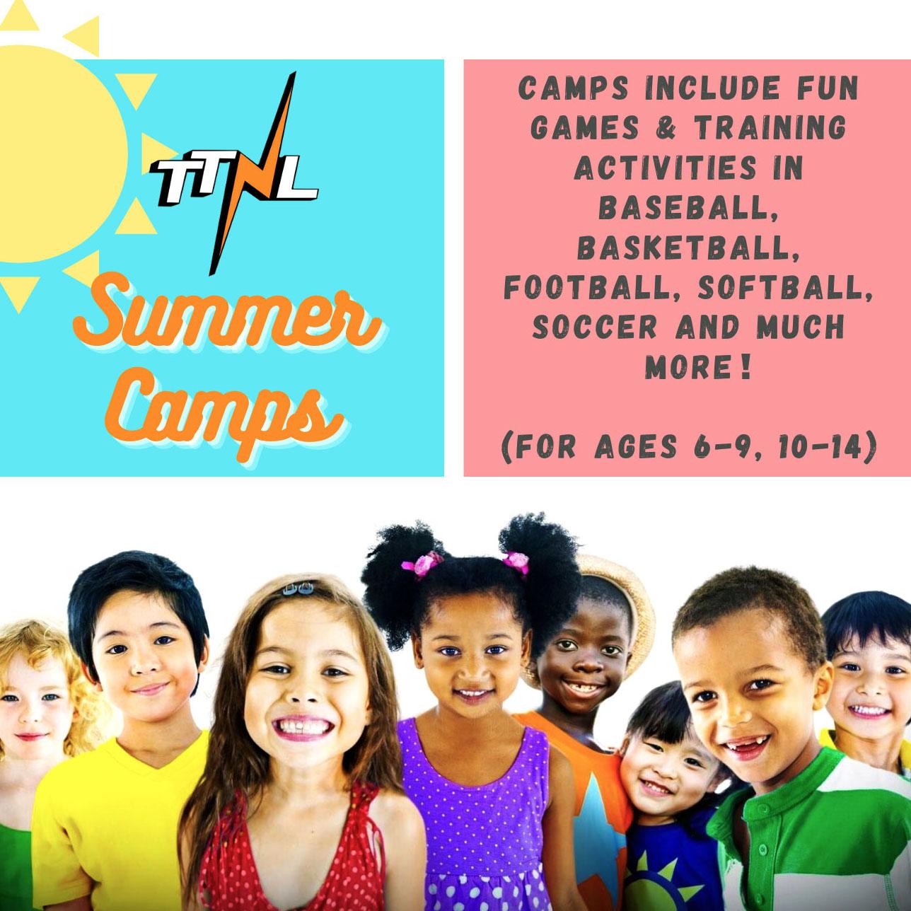 TTNL Full & Half Day Week Long Summer Camps