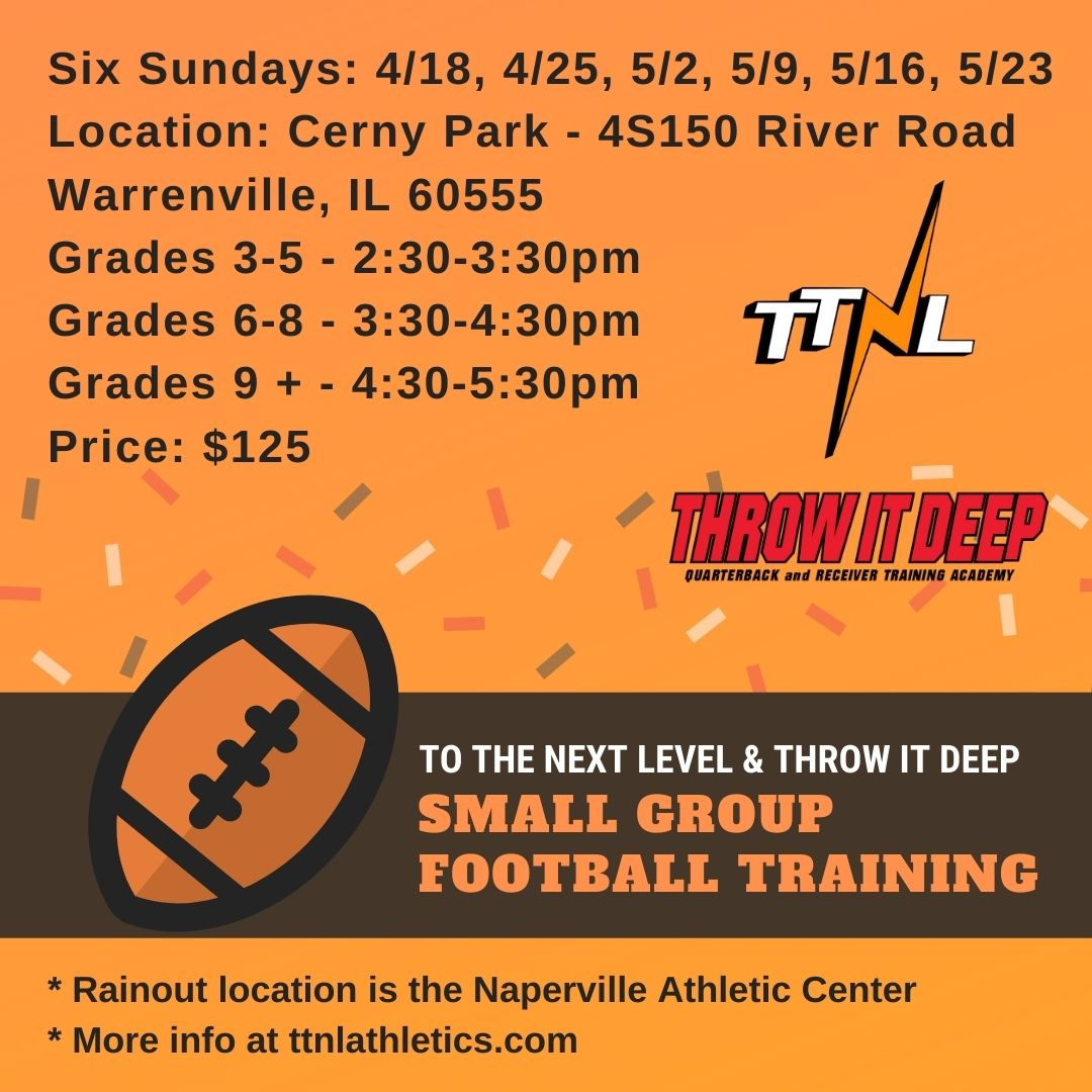 TTNL Small Group Football Training