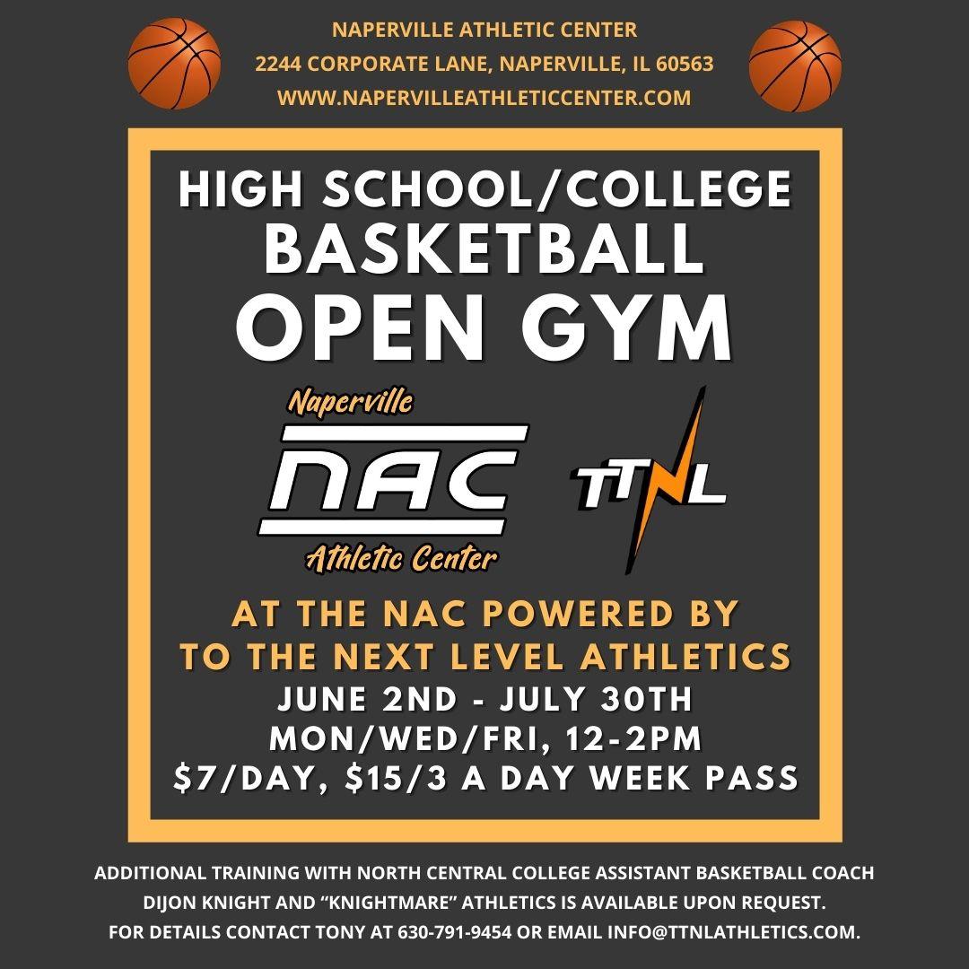 TTNL HS/College Open Gym